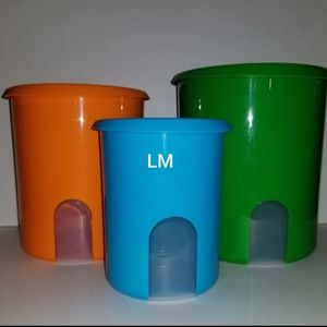 NEW TUPPERWARE CANISTERS